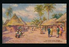 Sierra Leone EXHIBITION 1924 British Empire Village Tuck Oilfacsim PPC
