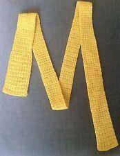 Mod/GoGo Wool Blend 1970s Vintage Ties