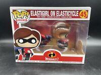 Funko Pop Rides Disney Incredibles 2 #45 Elastigirl On ElasticycleA
