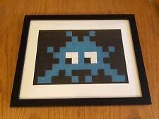 Framed Retro Invader Street Art Style Mosaic (Space Invader, Banksy, Eine)
