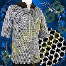 Camicia Cotta Di Maglia Di Alluminio Chainmail Shirt Chain mail Abito Tailleur