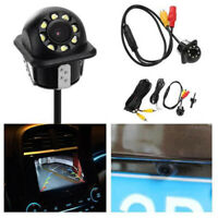 170° HD CMOS Car Rear View Backup Reverse Camera 8LED Night Vision WaterprooLFIT