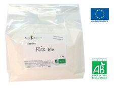 Farine de Riz Bio - 1Kg - Naturellement sans gluten - Cuisine - Pâtisserie