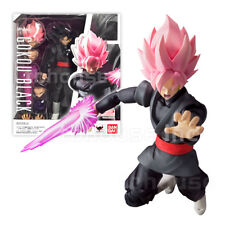 GOKU BLACK figure DRAGON BALL z SUPER SAIYAN ROSE pink S.H. SH FIGUARTS gokou SS