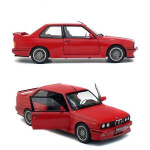 1/18 Solido BMW E30 M3 Rouge 1990 Neuf En Boîte Livraison Domicile