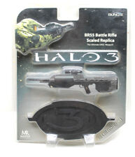 Halo 3 BR55 Battle Rifle Scaled Replica Die Cast Ultimate UNSC Weapon 2007 NOC