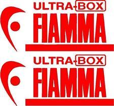 2 X FIAMMA ULTRA BOX ROULOTTE/CAMPER SCELTA DI ADESIVI DECALCOMANIE DI COLORI