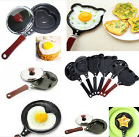 Mini Egg Pancake Frying Pan Cute Creative Kitchen Tool Cooker Non-Stick Pot New