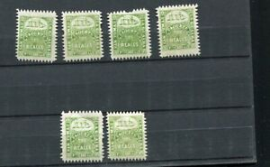 JN012) Venezuela old MNH stamps no res ! La Guaira