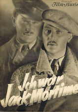 ICH WAR JACK MORTIMER  (1935) * with switchable English subtitles *