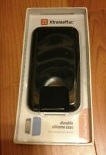 XtremeMac Black Durable Silicone Case For Ipod Touch 4G BRAND NEW