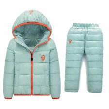 BibiCola Baby Winter Snowsuit Children's Winter Warm Jacket Pants for Girls Boys