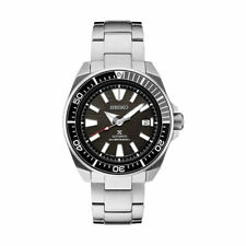 Seiko Men's Prospex Samurai Divers 200M Automatic Steel Bracelet Watch SRPB51