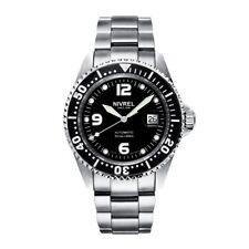 NIVREL Deep Ocean Black, Taucheruhr, Sportuhr, Armbanduhr, Automatik, N 145.001
