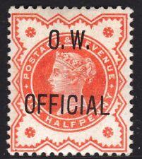 Original Gum Great Britain Victoria Surface-Printed Stamps