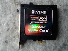 MSI P45 Diamond X-Fi Xtreme Audio Card, Soundkarte, sound card, PCI-E x1, SPDIF