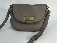 MARC BY MARC JACOBS Q Natasha TAUPE Pebbled Leather Crossbody Bag New Style