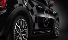 Original MINI JCW Seitenstreifen-Set Racing TRANSPARENT MATT NEU 51142355196