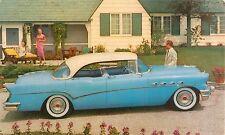 1956 Buick 73 Roadmaster 4-Door Riviera Dealer Postcard