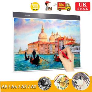 A2 A3 A4 A5 LED Light Box Pad Copyboard Artist Tracing Drawing Copy Board Panel