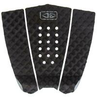 Ocean And Earth 3 Piece Traction Surfboard Grip Simple Jack Tail Pad Black/Grey