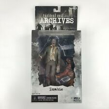 NECA Resident Evil Archives Series 1 Zombie Action Figure with Dog New