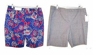 Dana Buchman Bermuda Shorts Sizes 10-18  NWT $40