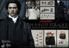 HOT TOYS SIDESHOW 1/6 SLEEPY HOLLOW ICHABOD CRANE JOHNNY DEPP NUOVO NEW