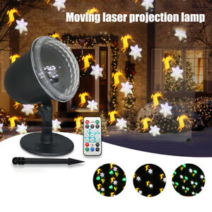 Festival Color Rotating Disco Stage Lighting Tools Waterproof LED Projector Lamp