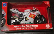 Moto Honda Gresini RC212V 2010 N° 58 Marco Simoncelli New Ray 57343 1:12