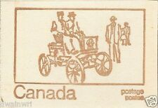 Canada 1971 Centennial Booklet UNI #BK69f - Cover:Canada Post MotorVehicle, 1910