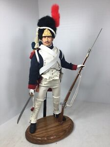 1/6 DRAGON NAPOLEONIC FRENCH IMPERIAL GUARD SWORD & MUSKET WATERLOO DID DRAGON