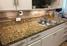 Gold Granite WALLPAPER STICKER VINYL FILM OVERLAY KITCHEN BACK SPLASH ROLL 6ft