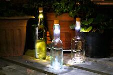 Ricaricabile USB Sughero LED Girare Il Vino Bottiglie in Lampade Notturne