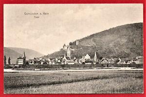 AK Gemünden a.Main 1915 Feldpost Stpl Heigenbrücken Spessart (D17)