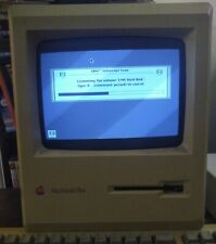 Apple Macintosh Plus 1MB M0001A Computer Only the Monitor! *Tested and Working*