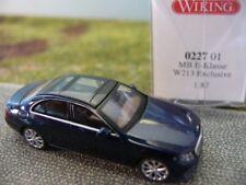 1/87 Wiking MB E-Klasse W213 Exclusive dunkelblau 0227 01
