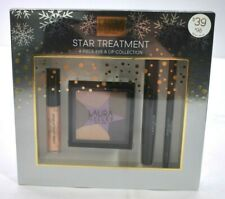 NEW Laura Geller Star Treatment 4 Pc Lip & Eye Gloss Mascara Eyeliner Shadow Kit