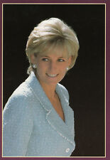 (15966) Photocard / Postcard Princess Diana Hatton Garden London 1997