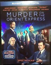 MURDER ON THE ORIENT EXPRESS(BLU-RAY+DVD+DIGITAL)W/SLIPCOVER NEW