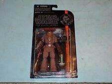 STAR WARS THE BLACK SERIES MERUMERU WOOKIE LEADER (ROTS) #15 WAVE-3 MOSC