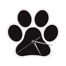 Dog Paw Wall Clock Puppy Pet Foot Wall Watch Charm Dog Loss Pet Memorial Gift