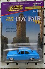 NEW YORK 1998 1000 BLUE BUMONGOUS BUICK HOT RAT ROD TOY FAIR JL JOHNNY LIGHTNING