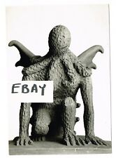H.P. LOVECRAFT CTHULHU STATUE PHOTO HORROR ACKERMAN FAMOUS MONSTERS