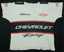 Rare VTG Chevrolet Racing Team Monte Carlo Double Sided T Shirt 90s NASCAR SZ XL