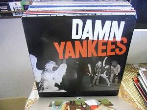 Damn Yankees S/T self-titled vinyl LP EX 1990 Warner Bros Ted Nugent Jack Blades
