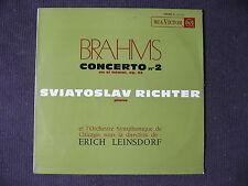 LP BRAHMS / RICHTER / ORCH. CHICAGO / LEINSDORF - CONCERTO N °2 / excellent etat