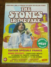 ROLLING STONES The Stones in the park DVD NEUF
