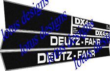 deutz fahr DX4.70 stickers / decals