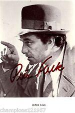 Peter Falk ++Autogramm++ ++Columbo++2